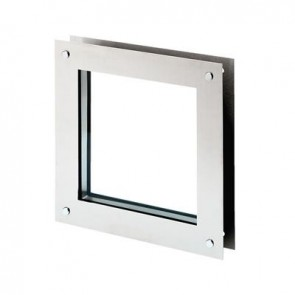 North 4 Designs Square Twin Glazed Vision Panel - 360 x 360mm