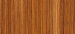 Zebrano Veneered Doors
